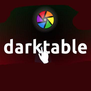 Formation Darktable